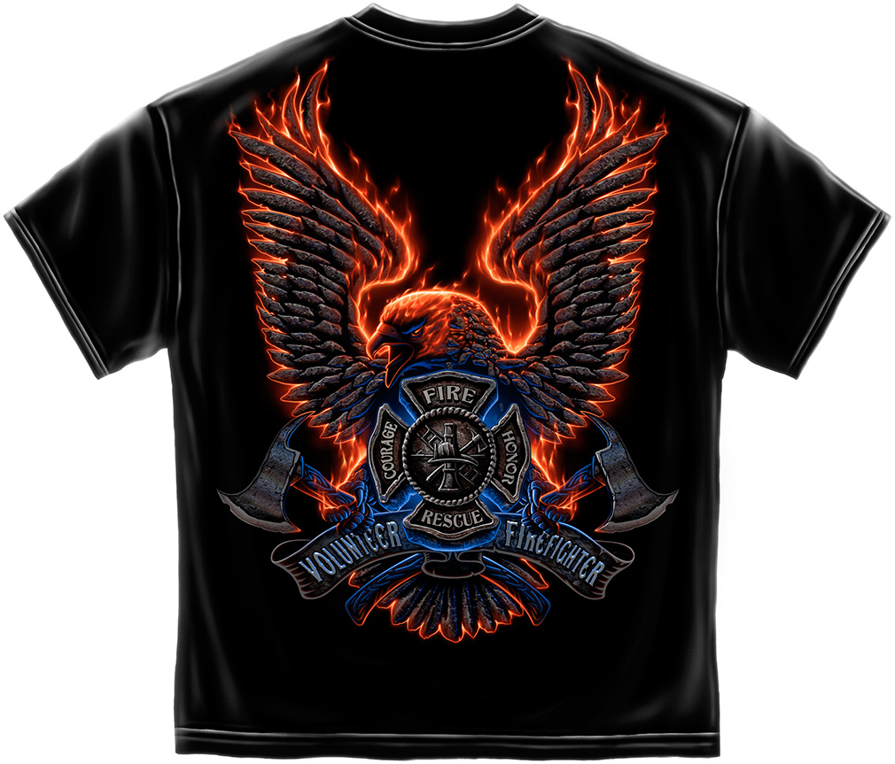 Volunteer Firefighter T Shirts 5