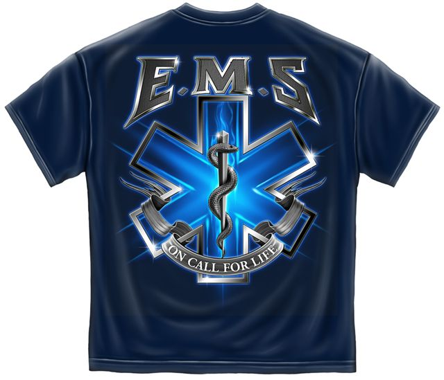 EMS T Shirts - On Claa for Life