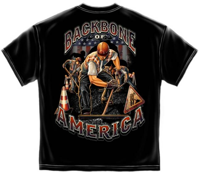 American Road Construction T Shirts