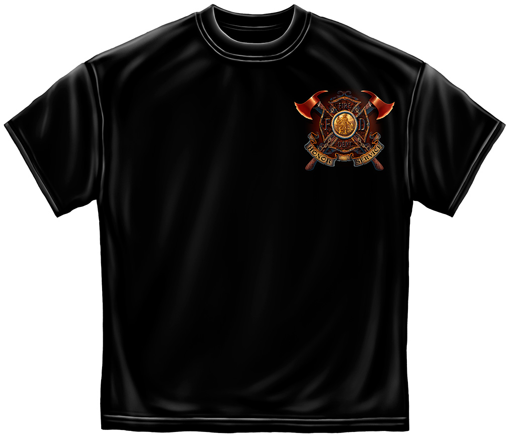Volunteer Firefighter TShirts 20